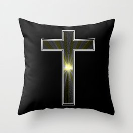 We are all drawn towards the light. Throw Pillow