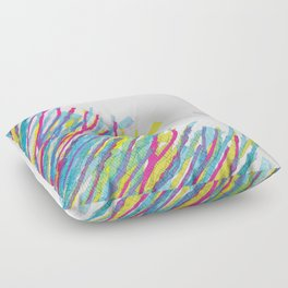 stripes in the wind Floor Pillow