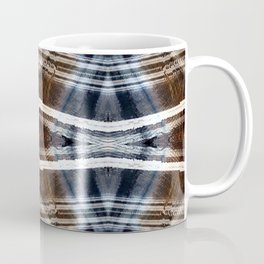Ethnic hand drawn shibori Coffee Mug