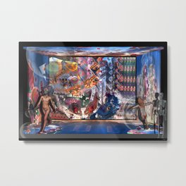 The Rising of Osiris Metal Print