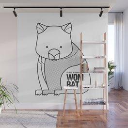 Wombat, Wildlife of Australia Wall Mural