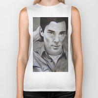cumberbatch Biker Tanks featuring Benedict Cumberbatch | Sherlock by Marie | Gib