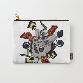 Skull player video games Carry-All Pouch