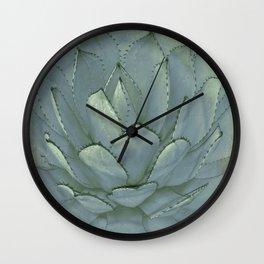 Agave Succulent Cactus Wall Clock