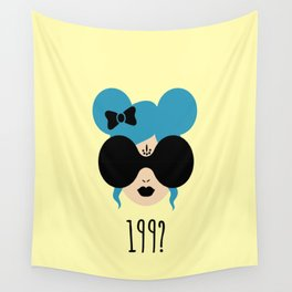 90's Baby (yellow) Wall Tapestry