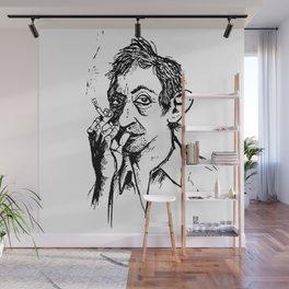 Monsieur Gainsbourg Wall Mural