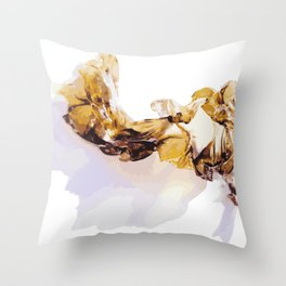 Weed of the Sea Throw Pillow