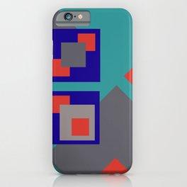 Grafik Rectangles II iPhone Case