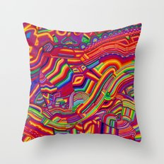 Shaping the Spectrum Throw Pillow