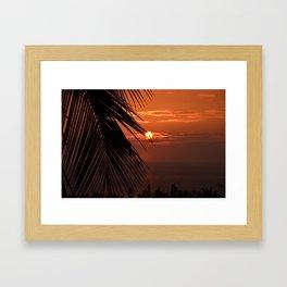 That's a Sunset Framed Art Print