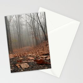 Foggy Trail. Stationery Cards