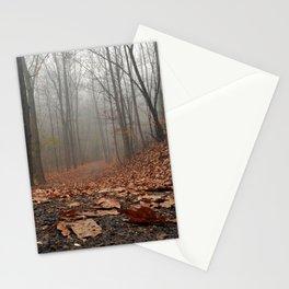 Foggy Trail. Stationery Cards