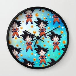 Dragon Pattern Wall Clock