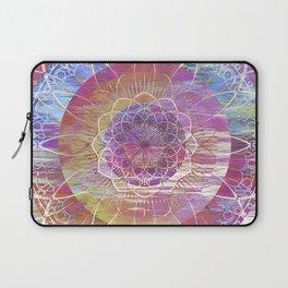 Glitch Mandala Laptop Sleeve