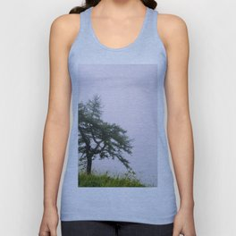 A lonely tree Unisex Tank Top
