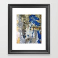 Blue Bird 2 Framed Art Print