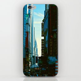 Busy City iPhone Skin