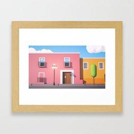 8N Framed Art Print