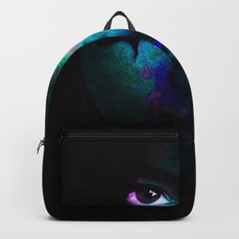 Colorful portrait Backpack