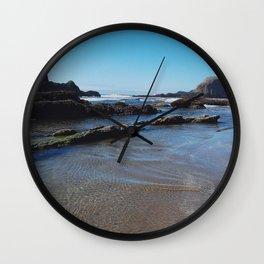 Rippling Tides Wall Clock
