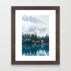 Emerald Lake Lodge II Framed Art Print