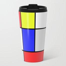Mondrian #25 Travel Mug