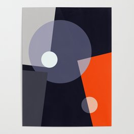Geometric Abstract Art #2 Poster