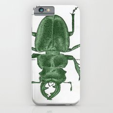 Green Beetle Postcard iPhone 6s Slim Case