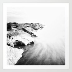 Endless ocean Art Print