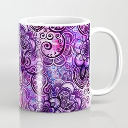 Purple Paisley Vision Coffee Mug