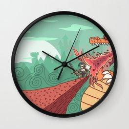 Beowulf Wall Clock