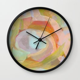 Roundabout Abstract Wall Clock