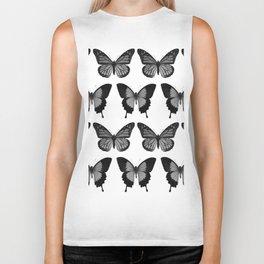 Butterflys Pattern Biker Tank