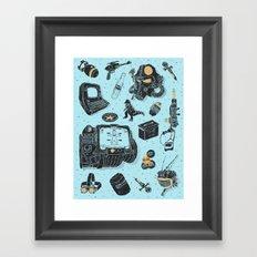 Artifacts: Fallout Framed Art Print