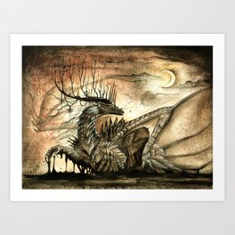 The Lord of Darkness Art Print