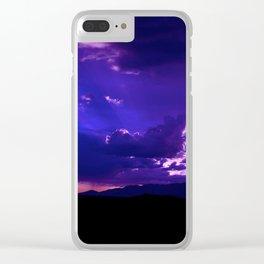 SW Mountain Sunrise - IV Clear iPhone Case