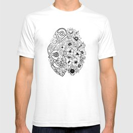 Left Brain - Right Brain T-shirt