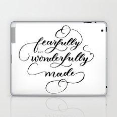 Fearfully & wonderfully made - brushed Laptop & iPad Skin