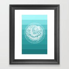 Flying Rose Framed Art Print