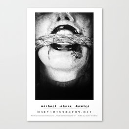 dark things 9 Canvas Print