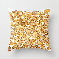 Cheesy.  Throw Pillow
