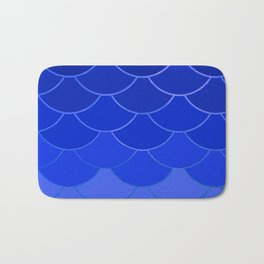 Blue Scales Bath Mat