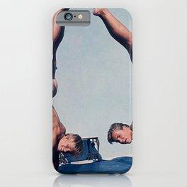 Vintage Acrobats iPhone Case