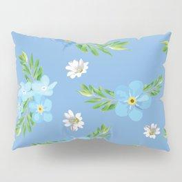 Myosotis pattern Pillow Sham