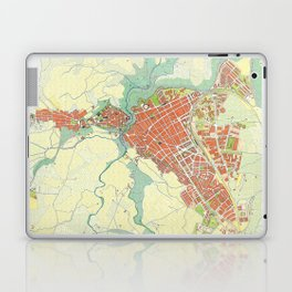 Ronda city map classic Laptop & iPad Skin