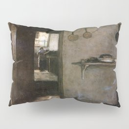 Cellar Interior By Johan Hendrik Weissenbruch | Reproduction Pillow Sham