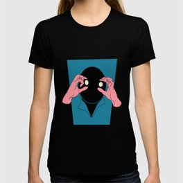 Staring is Scaring T-shirt