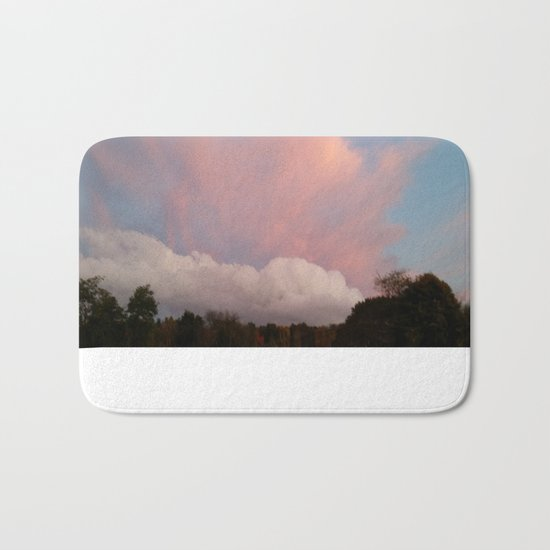 Dance of Two Clouds Bath Mat