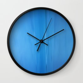 Abstract Blues Wall Clock