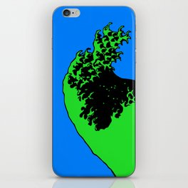 wave rider no.2 iPhone Skin
